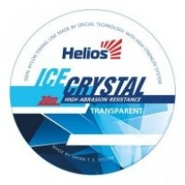 Леска Helios Ice Crystal Nylon Transparent 30м 0.08мм (0.95кг)