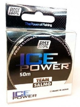 Леска Team Salmo Ice Power 0.182 50м 2.61кг