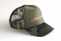 Кепка Fish Arrow Mech Cap Fish Arrow Green/Camo/Orange