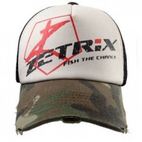 Кепка Zetrix Cap Green Camo Beak/Brown Camo Mesh