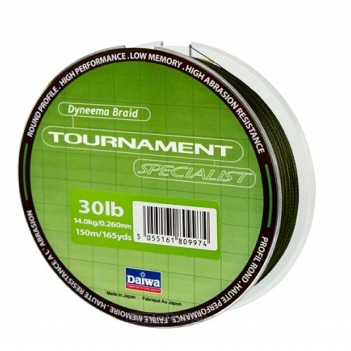 DAIWA TOURNAMENT Specialist 150m 0.20mm ,30lib.14kg