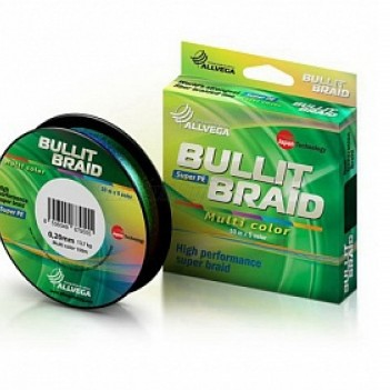 Шнур плетен. ALLVEGA Bullit Braid