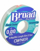 Леска Owner Broad 0.12 1.5кг 25м