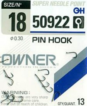 Крючки OWNER  50921  №18 PENNY HOOK