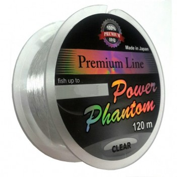 Леска Power Phantom Clear 120м 0.25 5.9кг