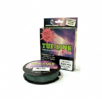 Шнур плетен. TUFLINE PLUS  137m 0.28mm 16kg Green