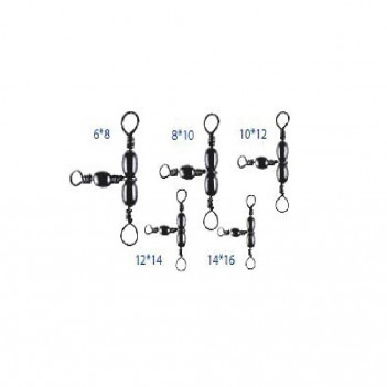 ВЕРТЛЮГ ECO DS1501 BAREEL TRIPLE SWIVEL STYLE A №2*4 test 44kg