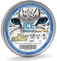 Леска Power Phantom Ice Warrior Super Soft Clear 30м 0.14 1.60кг